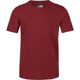 Regatta Tait Camiseta Hombre, rojo